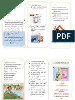 Leaflet Jamban Sehat