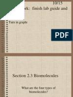 2.3 Biomolecules