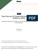 Drag Queens Speak Out About RuPaul's Transphobic Attitudes Towards Drag - them..pdf
