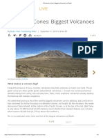 5 Colossal Cones_ Biggest Volcanoes on Earth
