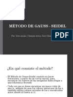 Metodo Gauss Seidel