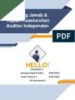 Kel.6 Tanggung Jawab Audit Dan Tujuan Audit