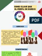 Definiciones Clave Que Sustentan El Perfil de Egreso. Material compartido por José Antonio Peñafiel Vásquez