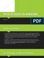 Tipos de Redes en Windows