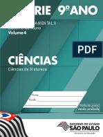 Caderno do Aluno Volume 4. Ciências da Natureza ENSINO FUNDAMENTAL II.pdf