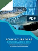 Acuicultura de La Trucha Arco Iris - Importación de Ovas Embrionadas y Su Comercialización a Nivel Nacional