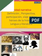 héroes narrativa