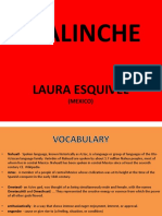Draft Malinche
