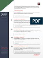 Snapdragon 855 Mobile Platform Product Brief