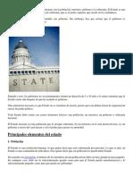 Los Elementos Del Estado Más Importantes Son La Población