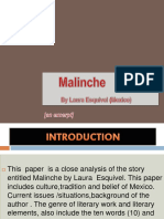 Malinche Excerpt Power Point