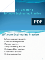 Software Engineering chapter 5 ppt pressman
