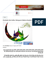 Mengurai Makna Ibadah Kurban Dan Haji NU Online