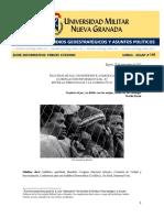 SUDÁFRICA OBSERVACIONES AL PROCESO DE PAZ