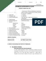 C. Informe Supervisor Marzo 2018