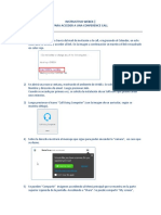 Instructivo - WebEx