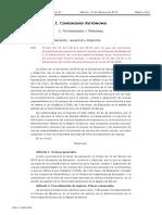 Convocatoria Murcia 2019