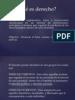 Diapositiva de Derecho Internacional