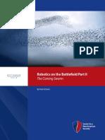 Robotics on the Battlefield Part II The Coming Swarm.pdf