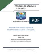 Investigación convertidores digitales U1 - Sosa Cárdenas Gabriel Alberto - 62S