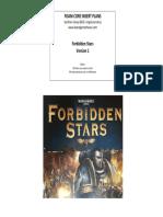 Forbidden Stars Foam Core v1