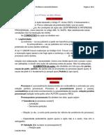 Direito Processual Civil I (3 e 4f) - Nolasco