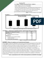 Evaluation Bac concept de base