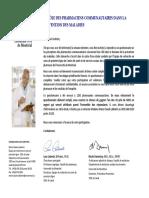 Questionnaire Aux Pharmaciens