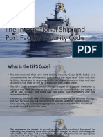 The International Ship and Port Facility Security (ISPS)Code