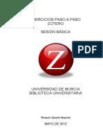 EjerciciosBásicosZoteroUMU2012