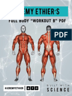 Full Body Workout B PDF