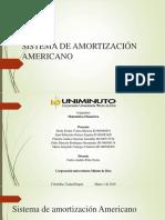 Sistema de Amortización Americano