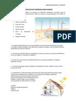 Ejercicios de Energías Renovables