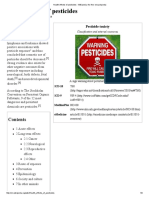 pesticide effect for subjective  health effect