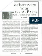 Interview With Mark Baker