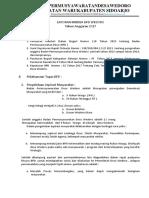Laporan Kinerja BPD Tahun 2018