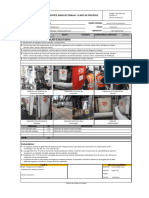 REP-DIARIO-086, Inspección de La Red Contra Incendio – Área 220– Planta de Procesos.