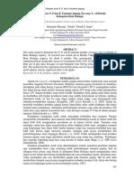 Serapan Hara N, P Dan K Tanaman Jagung (Zea Mays L.) Di Dutohe