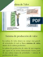 Cadena de Valor Diapositivas