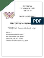 Practica4 Fuente Reguladora de Voltaje