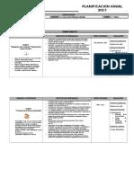 Planificación Anual Lenguaje Primero Básico - Copia