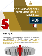 5 Cualidades de Un Supervisor Lider en Seguridad