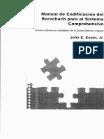 Exner - (2008) Manual de codificación del Rorschach para el sistema comprehensivo.pdf