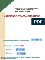 cambios adiabaticos