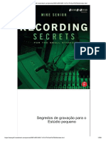 Mike Senior - Recording Secrets For The Small Studio (Portugues).pdf