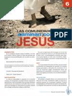 6. Las Comunidades Caminan Con Jesus