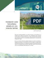 Instalacion Solar Fotovoltaica Vivienda Aislada