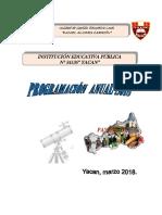 Planificación Anual 3ro 2018-Modificado Okkkkk