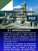 Unidad 2 Industria de Cemento y Cales