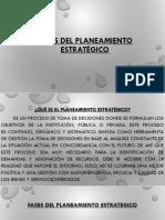 fases del planeamiento estratégico